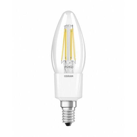Ampoule LED EEC: A++ (A++ - E) OSRAM 4052899962309 E14 Puissance: 4.5 W blanc chaud 5 kWh/1000h
