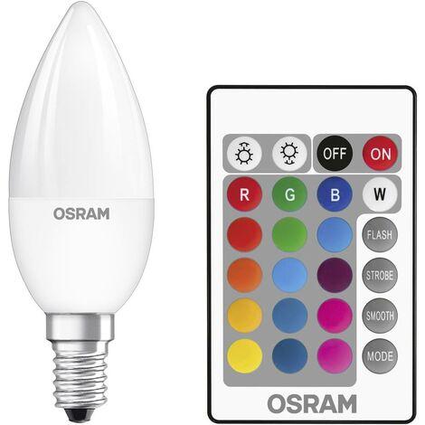 Ampoule LED EEC: A (A++ - E) OSRAM 4058075045736 E14 Puissance: 4.5 W 5 kWh/1000h
