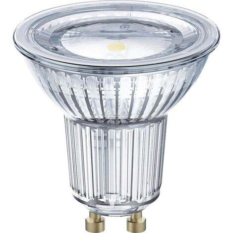 Ampoule LED EEC: A (A++ - E) OSRAM 4058075815605 GU10 Puissance: 6.9 W blanc neutre 7 kWh/1000h