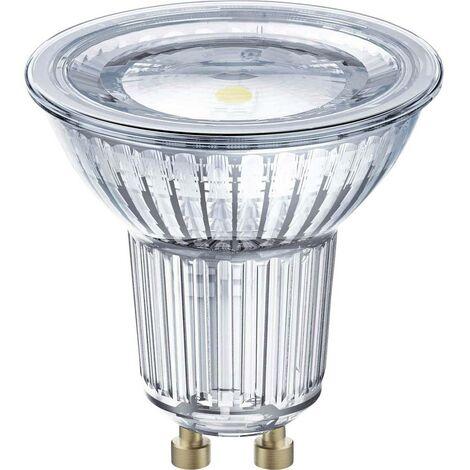 Ampoule LED EEC: A (A++ - E) OSRAM 4058075815865 GU10 Puissance: 6.9 W blanc chaud 7 kWh/1000h