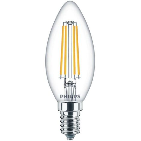 Ampoule LED EEC: A++ (A++ - E) Philips Lighting 76221600 76221600 E14 Puissance: 6.5 W blanc froid 7 kWh/1000h