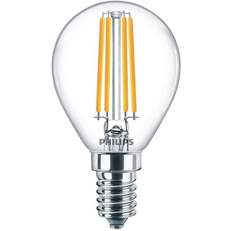 Ampoule LED EEC: A++ (A++ - E) Philips Lighting 76233900 76233900 E14 Puissance: 6.5 W blanc froid 7 kWh/1000h