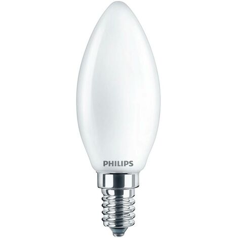 Ampoule LED EEC: A++ (A++ - E) Philips Lighting 76271100 76271100 E14 Puissance: 6.5 W blanc froid 7 kWh/1000h