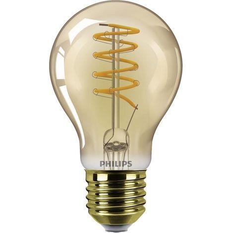 Ampoule LED EEC: A (A++ - E) Philips Lighting Classic 77483700 E27 Puissance: 5.5 W blanc chaud
