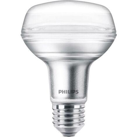 Ampoule LED EEC: A+ (A++ - E) Philips Lighting LED CLA 60W R80 E27 WW 36D ND RF SRT4 81323200 E27 Puissance: 4 W blan