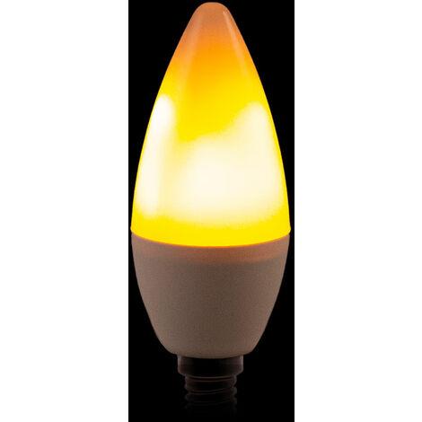 Ampoule LED Effet Flamme E14 3W 25000H (CA-EL-E14-3W)