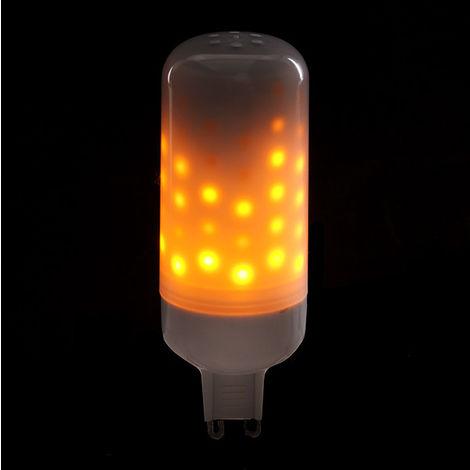 Ampoule LED Effet Flamme G9 3W 25000H (CA-EL-G9-3W)