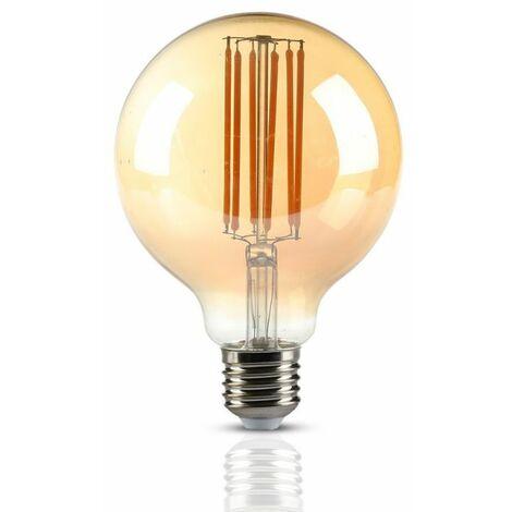 Ampoule LED Filament 7W E27 Vt-2027 - Blanc Chaud - 2200k - 360 Deg V-TAC