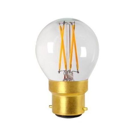 Ampoule led filament B22 4 watt dimmable (eq. 30 watt) - Culot - B22, Finition - Claire
