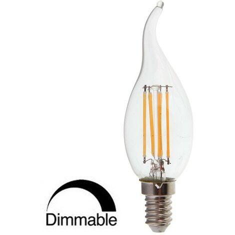 Ampoule LED Filament E14 bougie queue 4W 6000K°