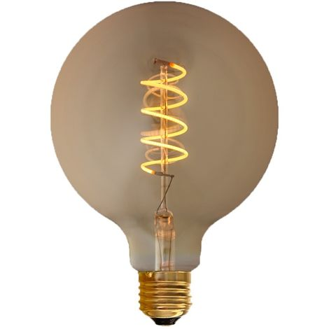 """main image of """"Ampoule LED filament E27 4W G125 """"Spirale"""" 