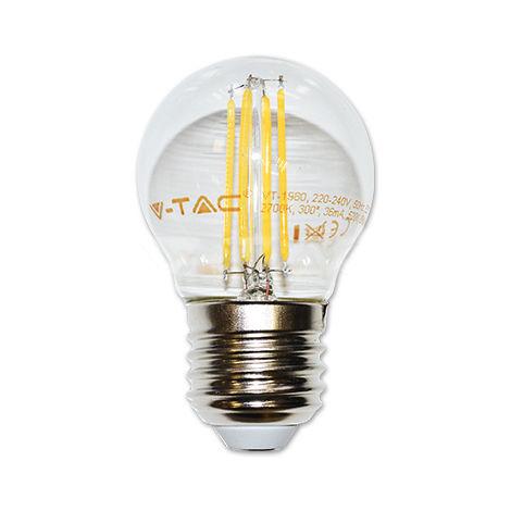 Ampoule LED Filament E27 G45 4W 6000K°