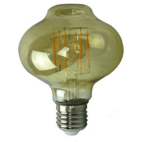 Grand Ampoule Led Filament Lantern Or Style Edison 6 Watt (eq.40 Watt) Compatible