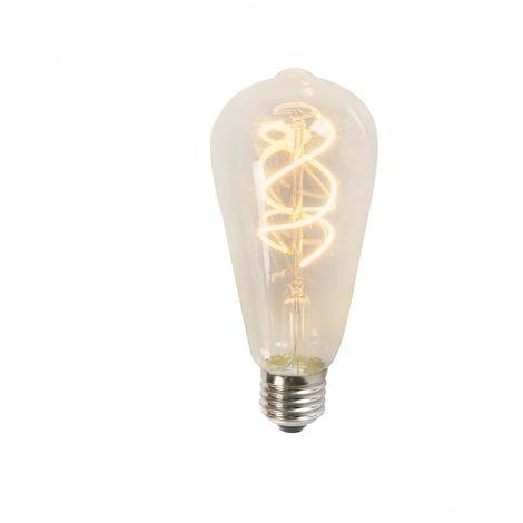 """main image of """"Ampoule LED filament Spiral ST64 5W 2200K brillant Luedd Moderne"""""""