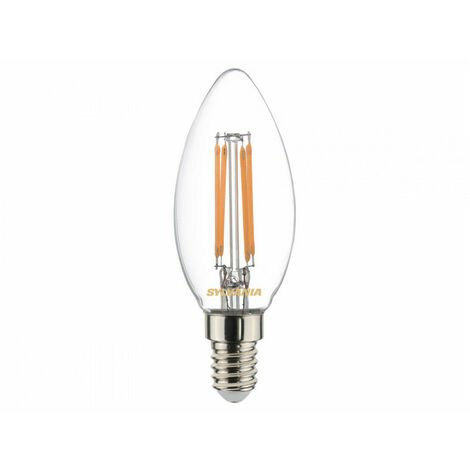Ampoule led FLA E14 827 4,5W = 40W Cla fil SYLVANIA