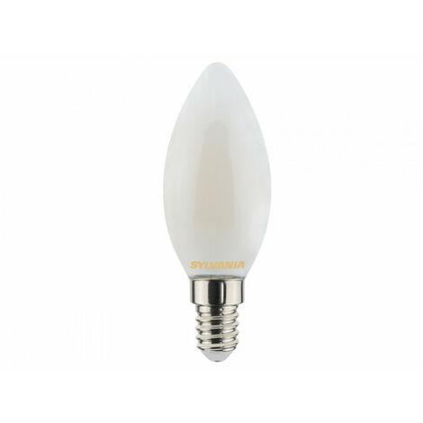 Ampoule led FLA E14 827 4,5W = 40W Sat fil SYLVANIA
