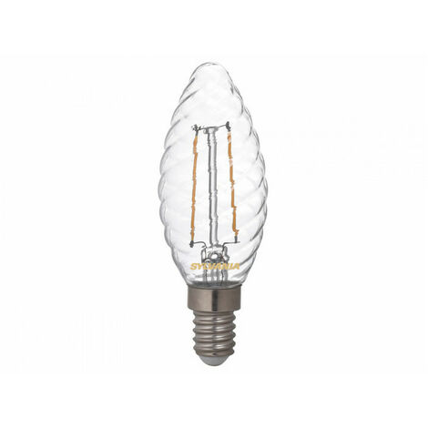 Ampoule led FLT E14 827 2,5W = 25W Cla fil SYLVANIA