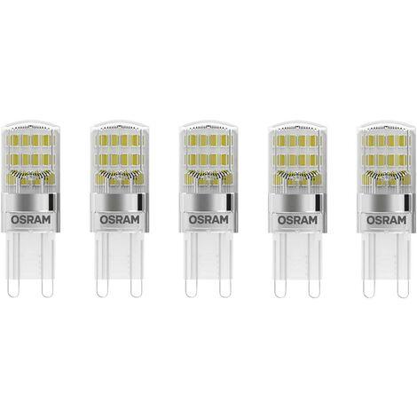 Ampoule LED forme spéciale G9 1.9 W = 20 W blanc chaud X187031