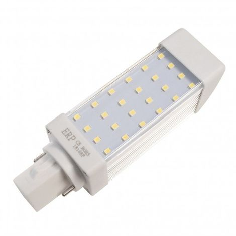 - Ampoule LED G24 - 5W - 120mm - Blanc Froid - Ecolife Lighting®