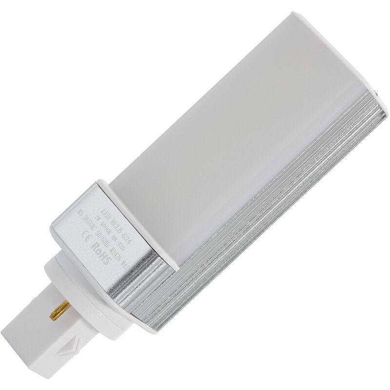 Ampoule LED G24 Frost 7W Blanc Neutre 4000K - 4500K - Blanc Neutre 4000K - 4500K