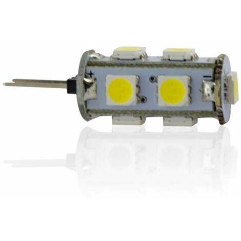 Ampoule LED G4 1,2W lumière 15W - Blanc Chaud 2700K