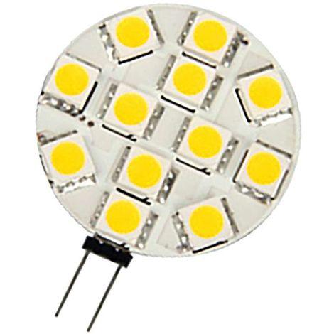 Ampoule LED G4 1,6W Ronde lumière 15W | Blanc Chaud (3000K)