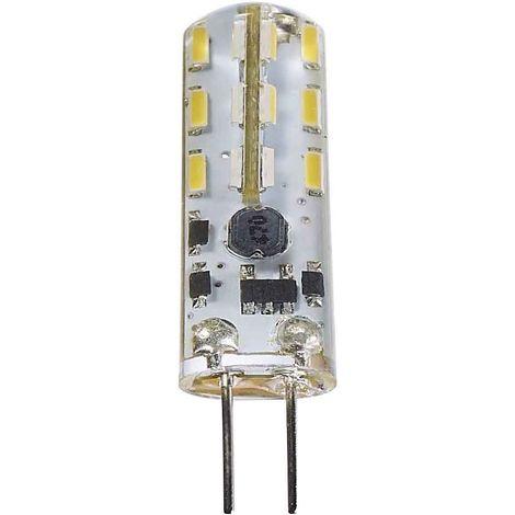 Ampoule LED G4 à 24 SMD 1.3W 90Lm (équiv 10W) Blanc neutre 360° 12V HIPOW