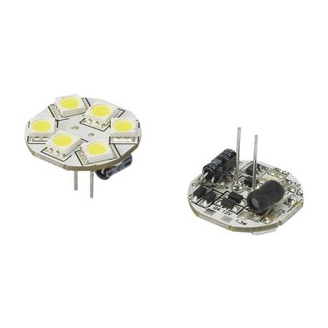 Ampoule LED G4 Renkforce 792396 1.3 W = 10 W blanc froid (Ø x L) 23 mm x 23 mm 1 pc(s)