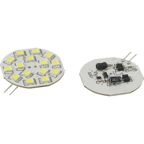 Ampoule LED G4 Renkforce 792409 2.8 W = 15 W blanc froid (Ø x L) 44.3 mm x 54.3 mm 1 pc(s)