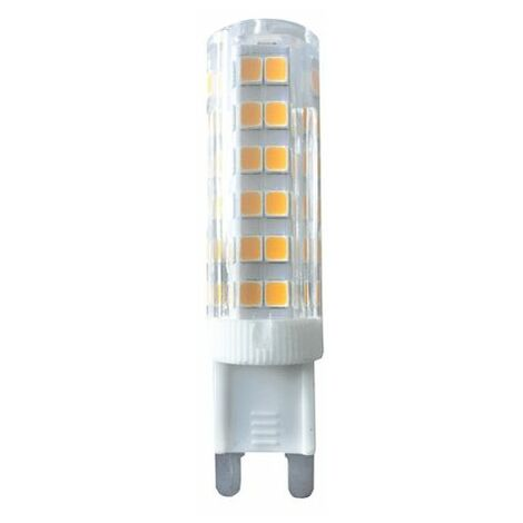Ampoule LED G9 Blanc Chaud 4 W conso pour éclairer 40 W