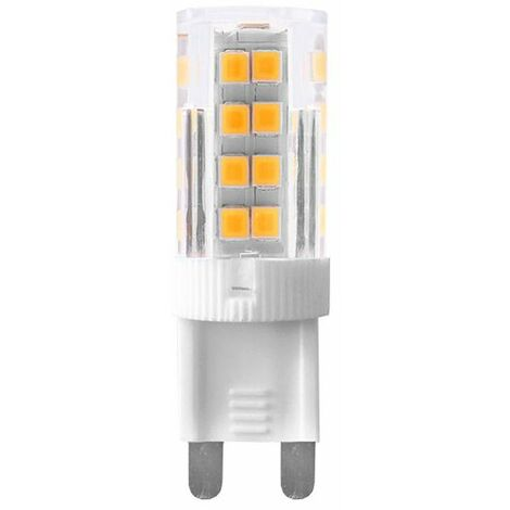 Ampoule LED G9 dimmable 3 W Blanc chaud rendu 25 W