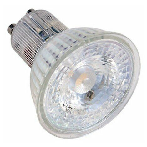Ampoule LED GLASS GU10 - 4,5W - 4000K - 420lm - Dimmable