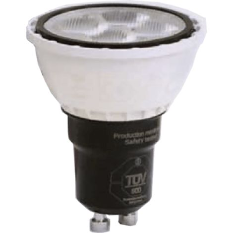 Ampoule LED - GU10 - 4.5W - 38° - 300lm - 3000k