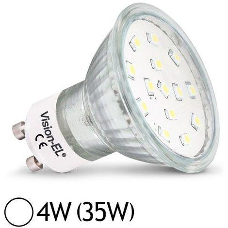 Ampoule LED GU10 4W SMD Dichroïque