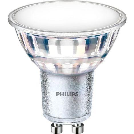 Ampoule LED GU10 5W 120º 550lm - Corepro LEDspot Philips