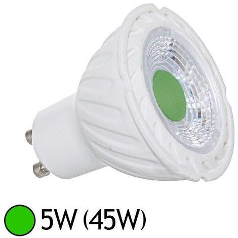 Ampoule LED GU10 5W Rouge, Bleu, Vert