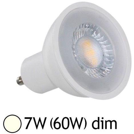 Ampoule LED GU10 7W 38° (Dimmable en option)