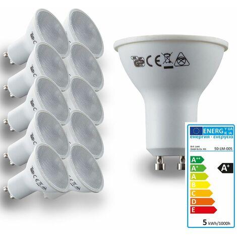 Ampoule LED GU10 ampoule d'économie d'énergie 5W