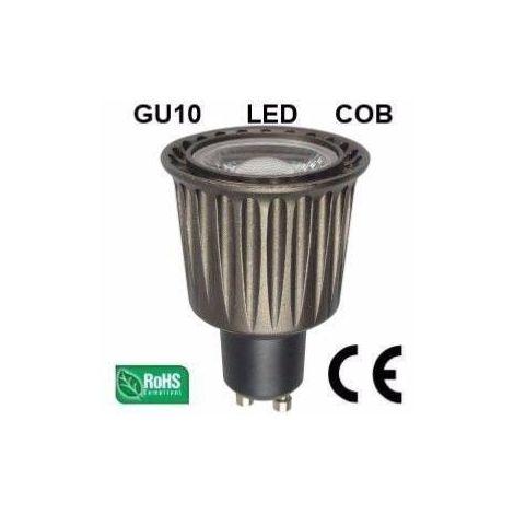 Ampoule LED GU10 COB 7W 500Lm (équiv 50W) Blanc neutre 45° HIPOW