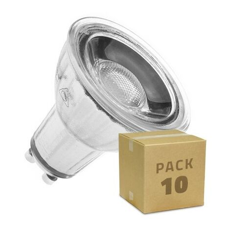 Ampoule LED GU10 Dimmable COB Cristal 45º 7W