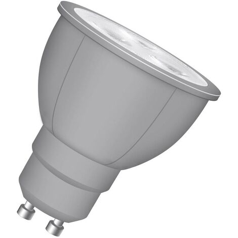 Ampoule LED GU10 Neolux 4052899930681 3 W = 35 W blanc chaud (Ø x L) 50 mm x 54 mm 1 pc(s)