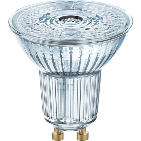 Ampoule LED GU10 OSRAM 4058075112605 6.90 W = 80 W blanc chaud (Ø x L) 51 mm x 55 mm 1 pc(s)