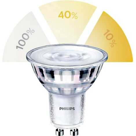 Ampoule LED GU10 Philips Lighting 929001346058 5 W = 50 W blanc chaud (Ø x L) 50 mm x 54 mm 1 pc(s)