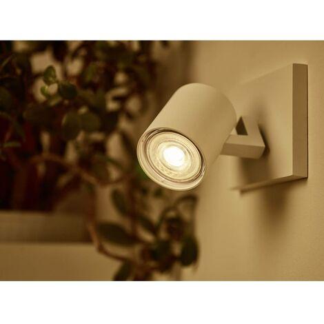 Ampoule LED GU10 Philips Lighting 929001364101 3.8 W = 50 W blanc chaud 1 pc(s)