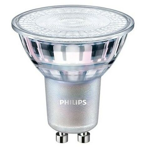 Ampoule LED GU10 - Philips - Master LED 4.9-50W - Dimmable - IRC90 -Blanc Chaud