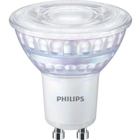Ampoule LED GU10 Philips Philips Lighting 66269100 6.2 W = 80 W blanc chaud (Ø x L) 5 cm x 5.6 cm 1 pc(s)