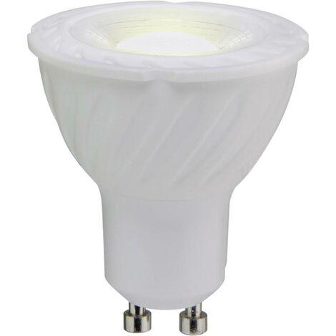 Ampoule LED GU10 Sygonix TGU10-PA6D 6 W = 55 W blanc chaud (Ø x L) 55 mm x 50 mm 1 pc(s)