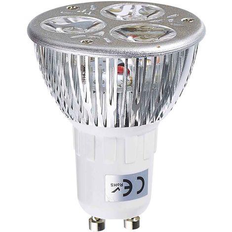 Ampoule LED GU10 TriLED 3x2W 6W 320-370Lm Blanc Chaud 60° EDISON - 1120