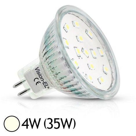 Ampoule LED GU5.3 - 4W SMD Dichroïque