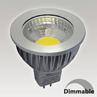 Ampoule led GU5.3 6W - 3000K - 75° - 550lm - Dimmable